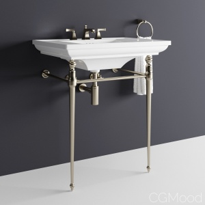 "Kohler ""memoirs"" Console Table Bathroom Sink"