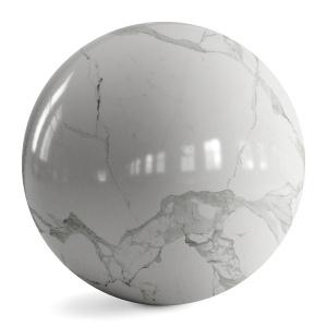 Statuario Marble, Pbr