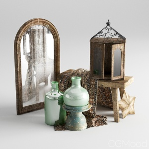 Vintage Decor Set02