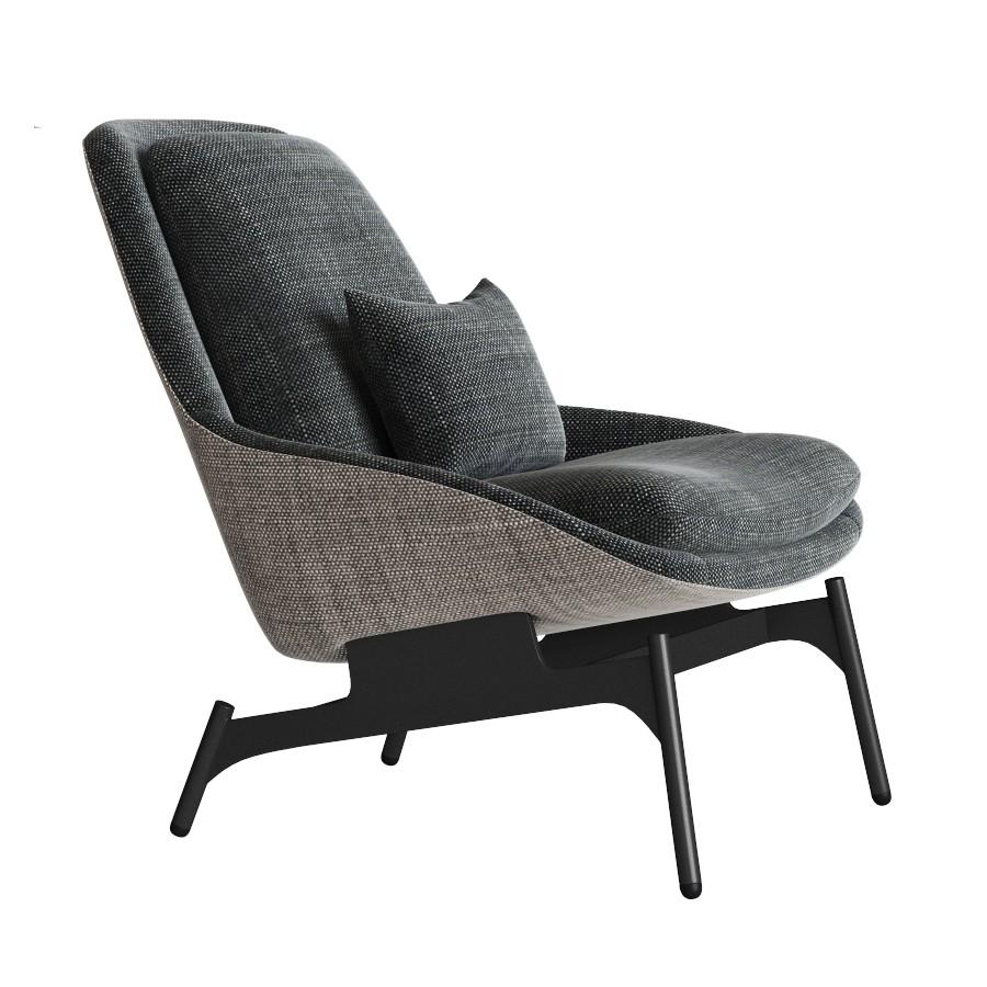 Amazing Field Lounge Chair Modern Lounge Chair Blu Dot 3D Model Machost Co Dining Chair Design Ideas Machostcouk