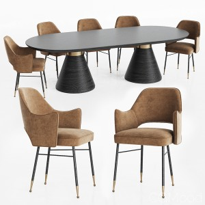 Dining Set by Kelly Wearstler
