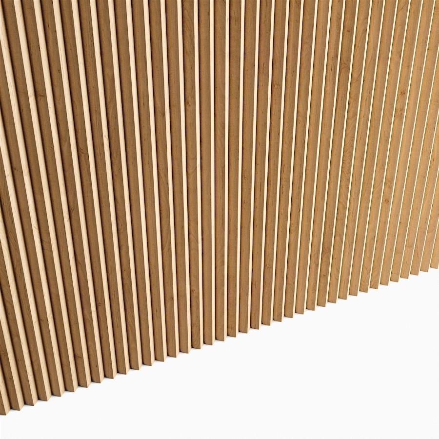 3D model Triangular Section Wooden Slats (displacement) free download