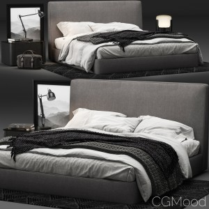 Minotti Powell Bed 121
