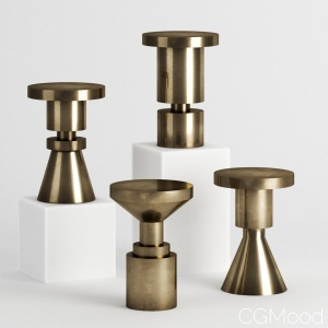 Chess Piece Stools By Anna Karlin