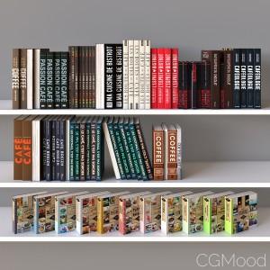 Books Set 04 Coffee