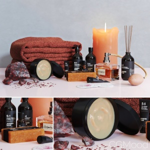 Decorative bathroom set 8