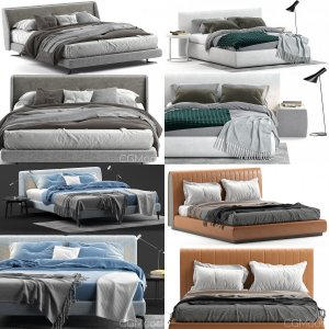 Bed collection (6 beds)