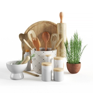 Kitchen accessories set