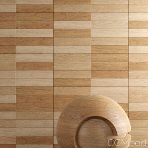Randomizing materials - Wood with Variations in Corona Renderer