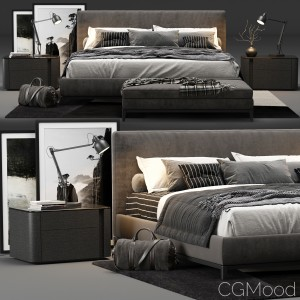 Minotti Andersen Bed