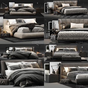 Bed Collection Vol. 2 (4 Models)