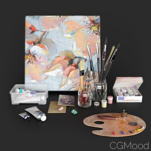 Decorative Set: Artist Set