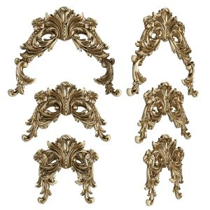 Decorative Carved Trim