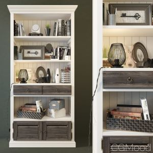 Shelving Folk Gray