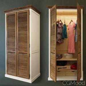 Wardrobe 2-door Folk