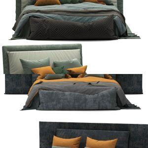 Boho Style Bed by AHADesign