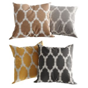 H&m Home Patterned Cotton Pillows