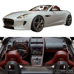 Jaguar F_type (v_ray)