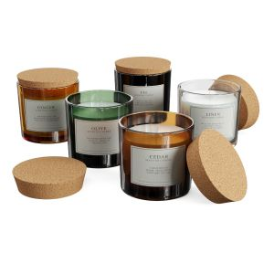 H&m Home Scented Candles In Glass