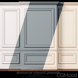 Wall Molding 10. Boiserie Classic Panels