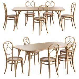 Chair Table N1 Wiener Gtv Design