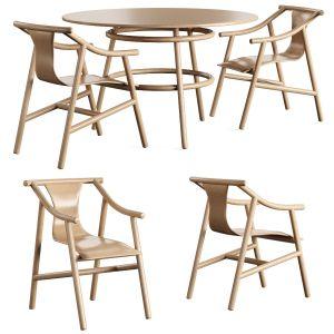 Chair Table Magistretti 03 02 Wiener Gtv Design