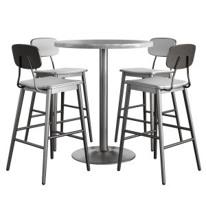 Isa International Scholar Barstool And Chair