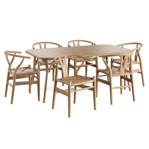 Wooden Table Chair Ch24