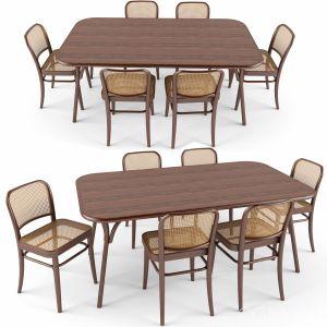 Chair N811 Table Wiener Gtv Design