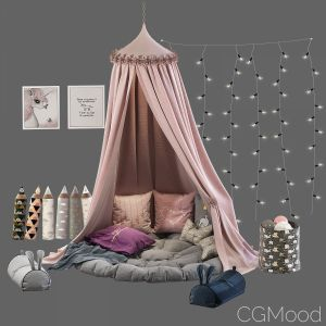 Children's Canopy With Decor Set 31