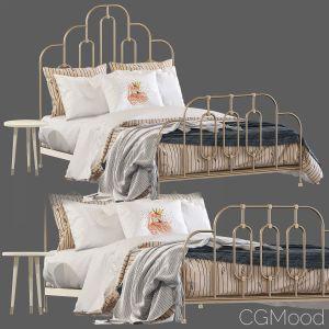 Bed Anthropologie Art Deco Bed Set 39