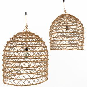 Bamboo Rattan Lamp 1