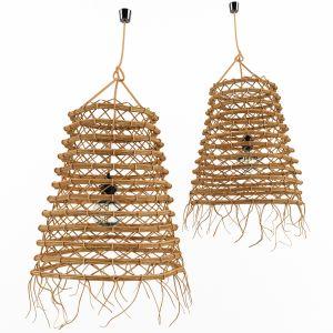Bamboo Rattan Lamp 3