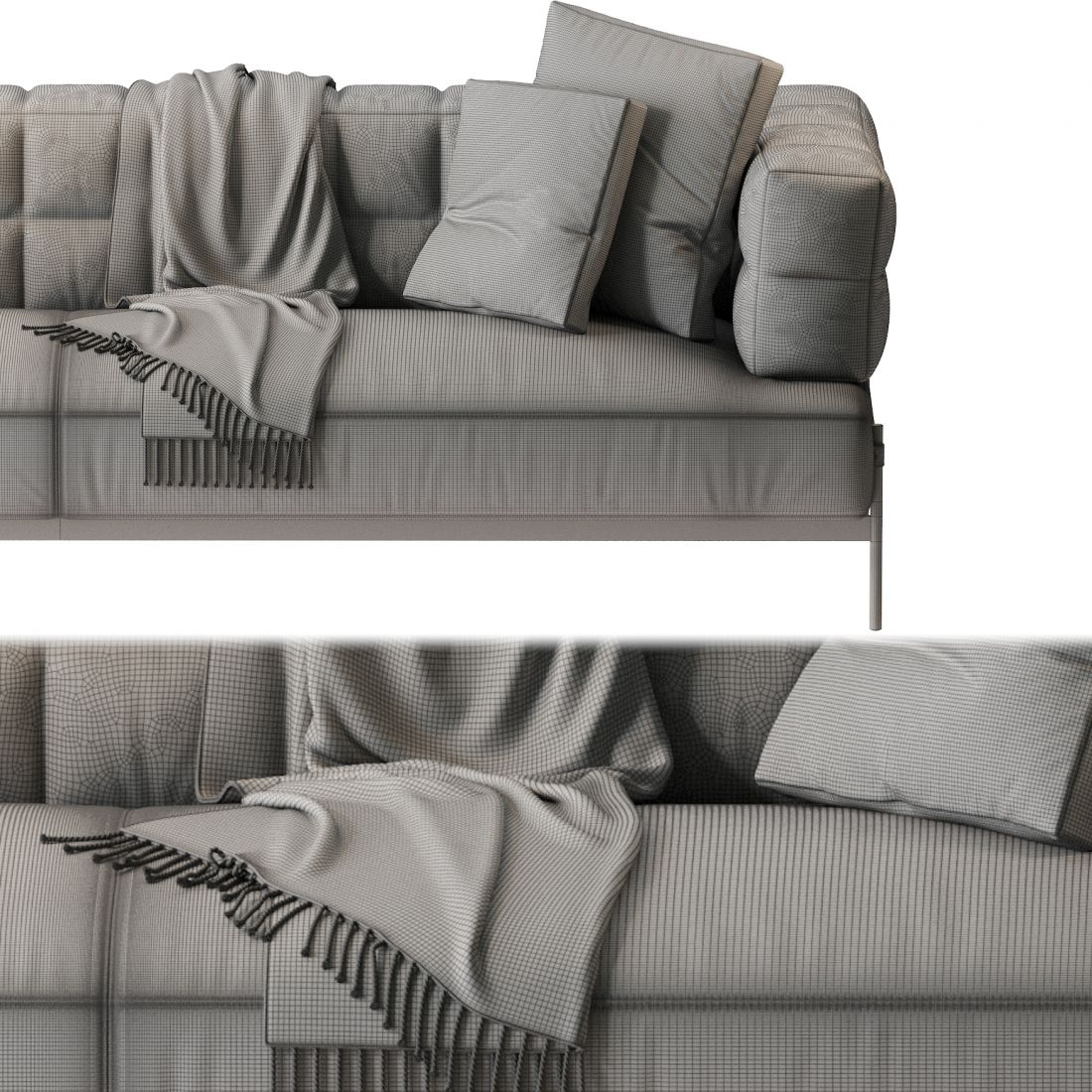 Aston Martin V220 Sofa 3d Model For Corona