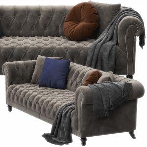 Triumph Sofa By Asnaghi