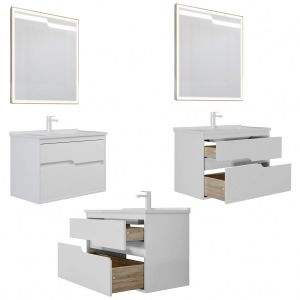 Furniture Set Modena 65/85/100 Gloss White