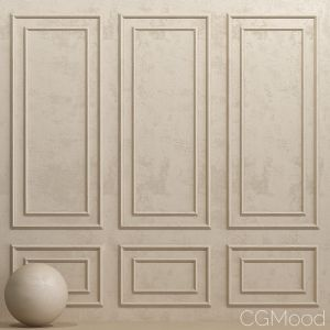 Decorative Plaster With Molding 2