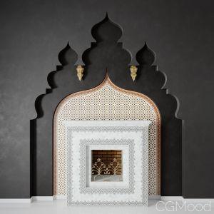 Arabic Fireplace