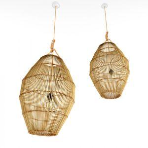 Bamboo Rattan Lamp 27