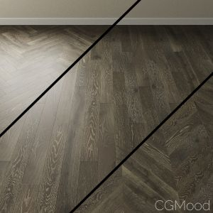Parquet Oak Coswick. Inspire Grape Grain Gray