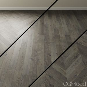 Parquet Oak Coswick. Inspire Misty Fjords Gray