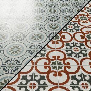 Lapaz Daisy  9x9 Matte Porcelain Tile