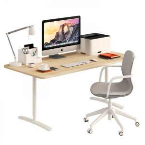 Ikea Bekant Desk And Lngfjll Chair