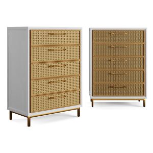 Rattan Bamboo Cabinet Serena Lily 2