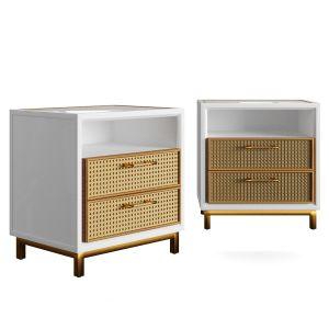 Rattan Bamboo Cabinet Serena Lily 3