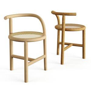 Nendo Wooden Chair Wiener Gtv Design