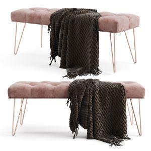 Logan Upholstered Bench
