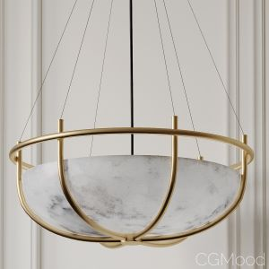 Parachute Glass Dome Chandelier Cb2 Exclusive