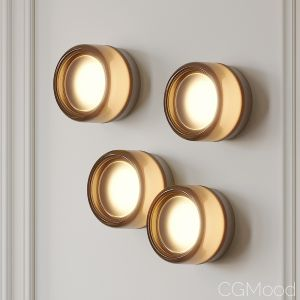 Dimple Smoke Sconce By Rich Brilliant Willing