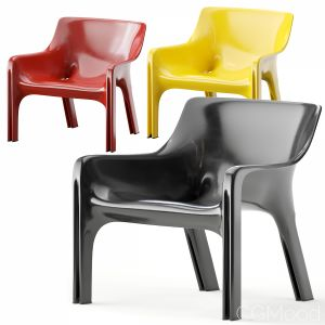 Vicario Armchair By Vico Magistretti